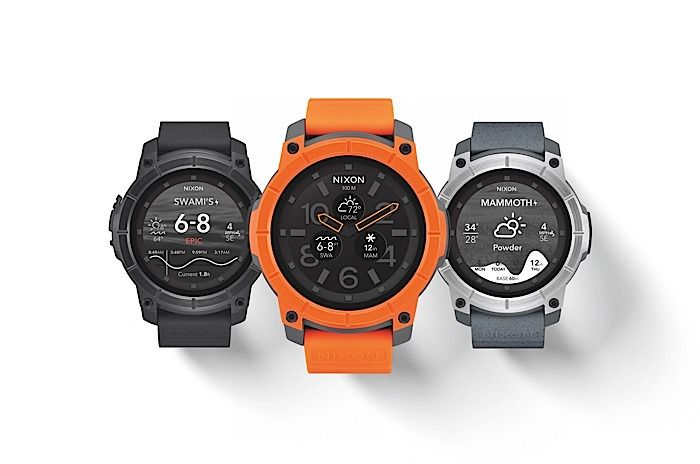 nixon the mission android wear smartwatch 1